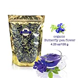 photo: buy Premium Thai Herb Organic Dried Butterfly Pea Flowers Tea, (3.55 oz.)Use to Cook, For Thai Food, Beverage, Cake or Cookie online, best price $13.99 new 2018-2017 bestseller, review