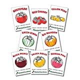 photo: buy Rebel Gardens Heirloom Tomato Seeds Organic - 8 Varieties of Non Gmo Seed for Planting online, best price $14.99 new 2018-2017 bestseller, review