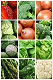 photo: buy 12 Assorted Cold Hardy Non-Gmo Easy Grow Vegetable Seeds (Organic) 1400+ Seeds 656793277190 Broccoli, Onion, Lettuce, Cabbage and More online, best price $39.99 new 2017-2016 bestseller, review