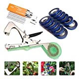 photo: buy KingSo Tying Machine for Plant and Garden Plant Tapetool Tapener With 12 Rolls Tape Set for Vegetable, Grape, Tomato,Cucumber, Pepper and Flower online, best price $65.76 new 2018-2017 bestseller, review