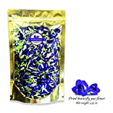 photo: buy Premium Thai Herb Organic Dried Butterfly Pea Flowers Tea, (3.55 oz.)Use to Cook, For Thai Food, Beverage, Cake or Cookie online, best price $12.99 new 2017-2016 bestseller, review