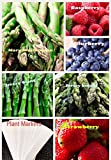 photo: buy Organic New Bulk 3 Asparagus Seeds Survival Seeds 585+ Seeds Bonus Fruit Seeds Upc 650327337701 + 6 Plant Markers Jersey Mary Washington Raspberry Strawberry online, best price $7.59 new 2017-2016 bestseller, review