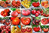 photo: buy PLEASE READ! THIS IS A MIX!!! 30+ ORGANICALLY GROWN GIANT Tomato Seeds, Mix of 22 Varieties, Heirloom NON-GMO, Brandywine Black, Red, Yellow & Pink, Mr. Stripey, Old German, Black Krim, From USA online, best price $2.59 new 2018-2017 bestseller, review