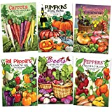 photo: buy Rainbow Vegetable Seed Assortment (35+ Varieties of Carrots, Peppers, Pumpkins, Tomatoes & Beets!) Non-GMO Seeds by Seed Needs online, best price $17.85 new 2018-2017 bestseller, review