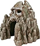 photo: buy Exotic Environments Skull Mountain Aquarium Ornament, Small, 5-1/2-Inch by 6-Inch by 6-Inch online, best price $16.99 new 2019-2018 bestseller, review